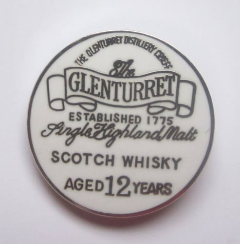 Glenturret Scotch Whiskey Emailliert Reversnadel Abzeichen