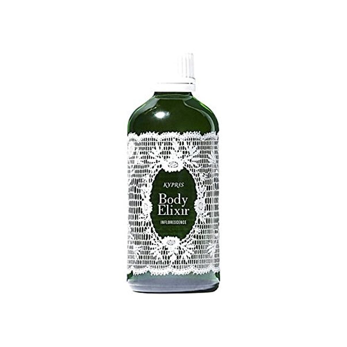 ダルセットオーナメント暴露する体-花序100ミリリットル x2 - Kypris Body Elixir- Inflorescence 100Ml (Pack of 2) [並行輸入品]