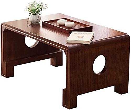 SHUMEISHOUT End Tables Coffee Table Coffee Tables Balcony Small Coffee Table Coffee Tables Bedroom Computer Table Load Capacity 230kg,Brown,50 * 40 * 40cm