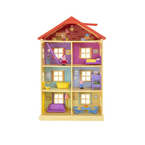 Peppa Pig PEP0757 Peppa's Dream House Playset with 2 Exclusive Figures: Peppa and George with Accessories for Children from 2 Years