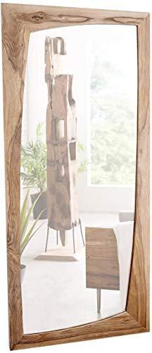 DELIFE Designer-Wandspiegel Wyatt 160x70 cm Sheesham Natur