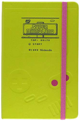 Moleskine Notebook Super Mario Game Boy Pocket Ruled