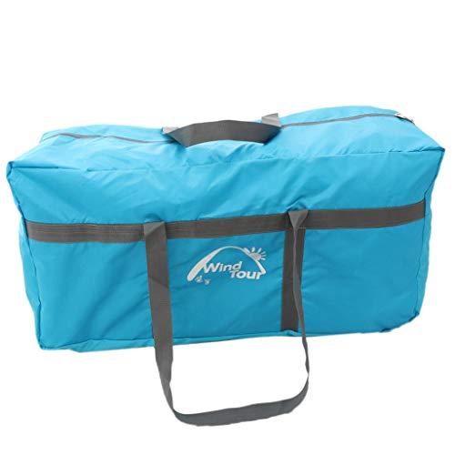 Sharplace Tienda de Campaña Impermeable de Gran Capacidad para Dormir Manta de Almacenamiento Organzier - Azul
