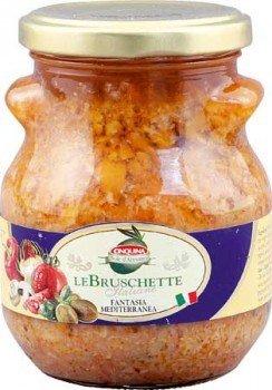 Cinquina Creme für Bruschetta Fantasia Mediterrana (280g Glas)