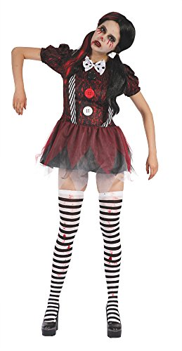 Bristol Novelty AF036 Gruselige Puppe Kleid