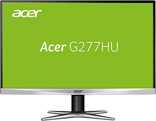 Acer G277HUsmidp 69 cm (27 Zoll) Monitor (DVI, HDMI, 1ms Reaktionszeit, WQHD) aluminium/schwarz
