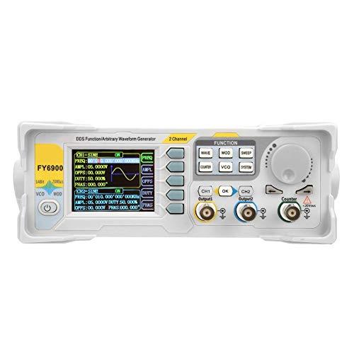 Signal Generator Counter,FY6900-60M 60MHz Multi-Functional Digital Signal Generator Counter Frequency Meter(US Plug)