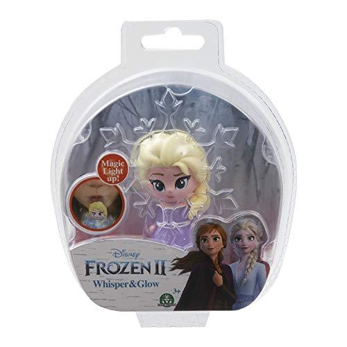 Giochi Preziosi Disney Frozen 2 Whisper and Glow Single Blister Mini Doll Elsa Opening Dress