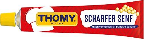 Thomy scharfer Senf, 15er Pack (15 x 100 ml)