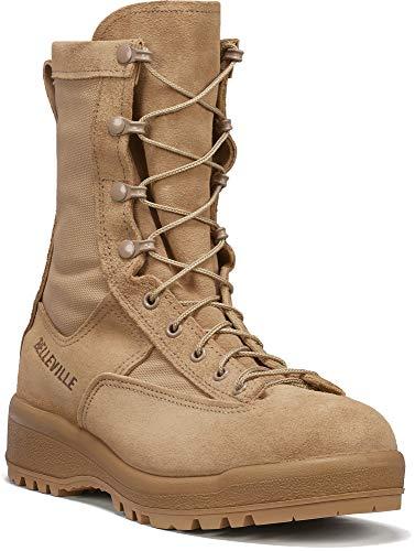 B Belleville Arm Your Feet Men's 790 Waterproof Flight & Combat Boot, Tan - 4.5 R