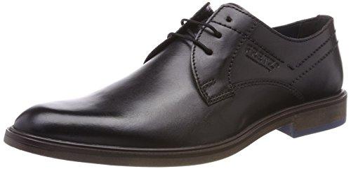 FRETZ men Oskar Zapatos de cordones derby Hombre, gris (Dark Grey), 46 EU (11 UK)
