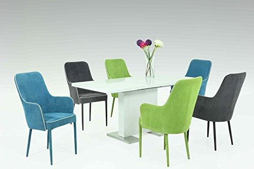 Juego de mesa Milano en diferentes colores.