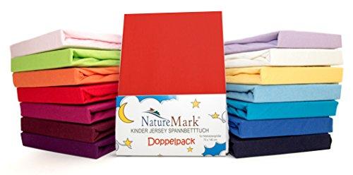 2Pack de ahorro Niños–Sábana bajera ajustable 100% algodón para cama infantil colchones...