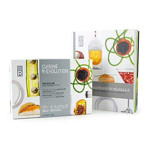 Molecule-R - Molecular Gastronomy Starter Kit + FREE 40 recipe book - CUISINE R-EVOLUTION