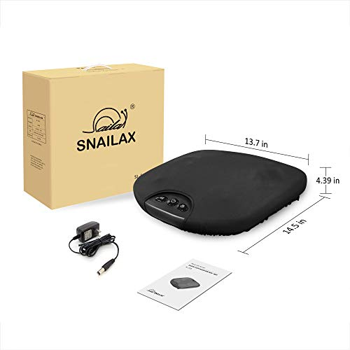 Snailax Shiatsu Foot Massager with Heat- Washable Cover Kneading Foot