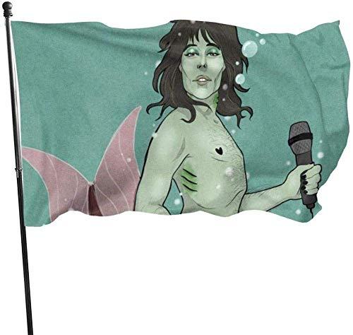 AOOEDM Flag GartenflaggeMerman Green...