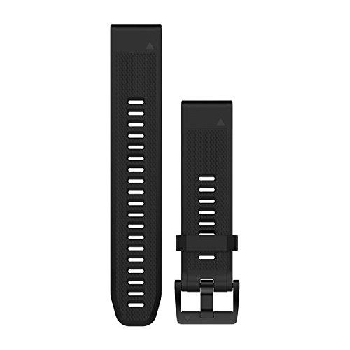 Garmin Silikon-Armband Quickfit-Wechselarmband, Schwarz, 26 mm