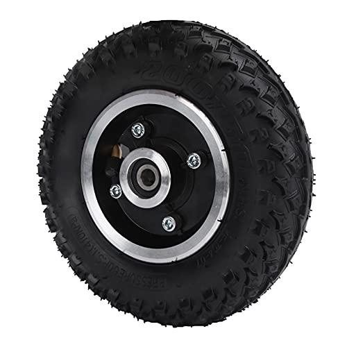 Rueda 200x50, Tubos para neumáticos de Scooter eléctrico 200x50 Caucho diseño Profesional y patrón Antideslizante para Scooter eléctrico