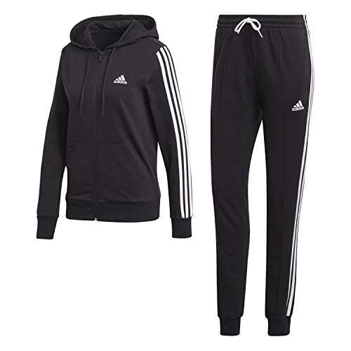 adidas Damen Cotton Energize Trainingsanzug, Black/Black, M