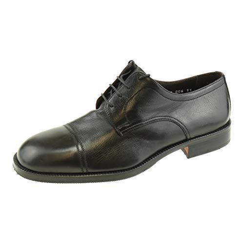 Herenschoenen Valleverde Claudemag2 zwart business veters kostuum schoen 9310006 + schoenpoetshandschoen