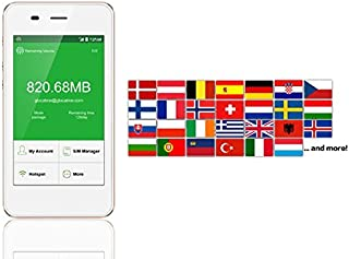 Orange SIM Card 4G/LTE Europe Mobile WiFi Hotspot Rentals - 10 Days