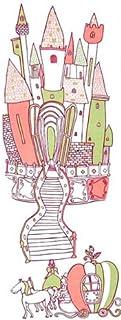 シンデレラ日本手ぬぐい Scene4 『かぼちゃの馬車で、お城に到着したシンデレラ』
