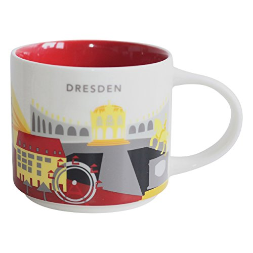 Starbucks City Mug You Are Here Collection Dresden Kaffeetasse Coffee Cup