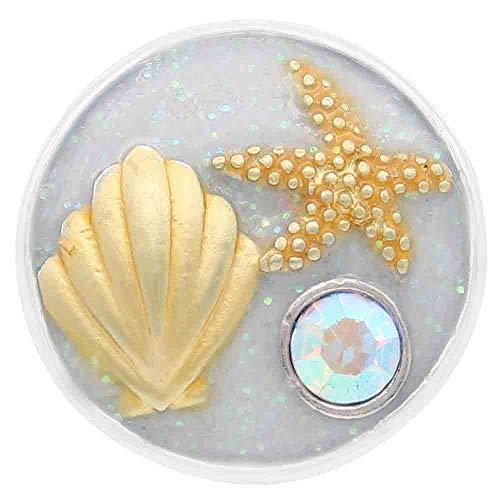 My Prime Gifts - Esmalte de Estrella de mar, Concha y Playa (18-20 mm)