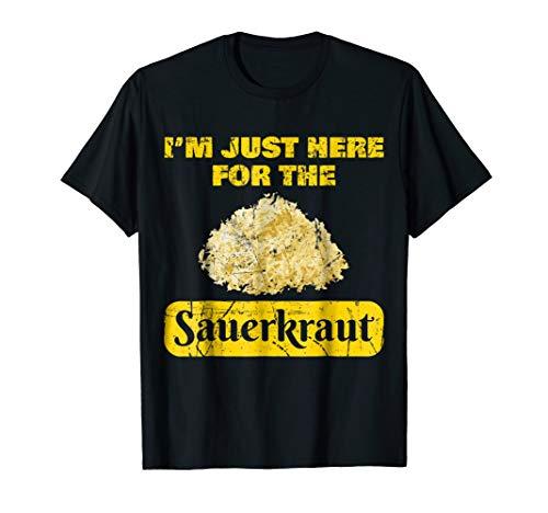 Oktoberfest Sauerkraut Funny German Food T-Shirt