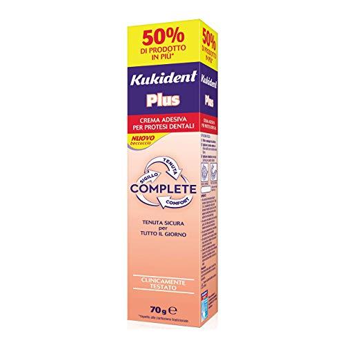 Kukident Complete Crema Adesiva per Dentiera Plus Original - 70...