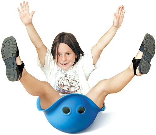 The Bilibo balancing toy is a versatile indoor toy for active kids