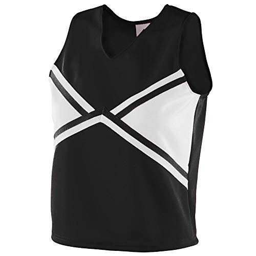Augusta Sportswear Women's 2XL 9120-C, Black/White, XX-Large