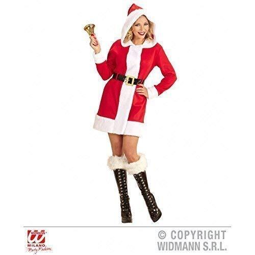 Lively Moments Costume Miss Babbo Natale con abito e cintura TGL S - M / NATALE/costume natale