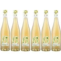 Fragantia 6 - Vino Blanco Baja Graduación V.T. Castilla - 6 Botellas de 750 ml - Total : 4500 ml
