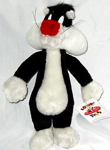 12  Looney Tunes Sylvester Plush Cat by Ace