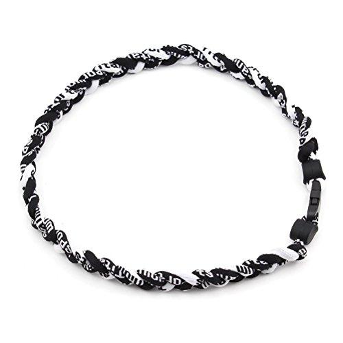 leorx Collar de Deportes Collar de Titanio Deporte Tornado B