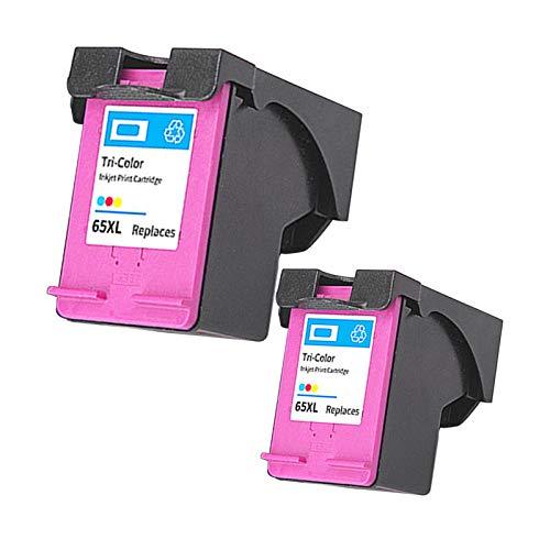 Cartuchos de tinta remanufacturados para impresoras HP 2655, 3720, 3721, 3722, 3723, 3752, 2 colores