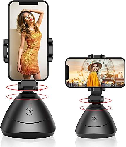 Desconocido Seguimiento Facial, Rotación de 360 ° con Seguimiento automático de la Cara, Smartphone Estabilizador de Cardán Vlog Youtube Live Video para iOS Android