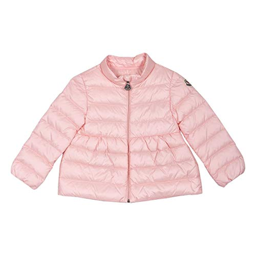 Moncler Luxury Fashion Baby 1A1071053048503 Rosa Polyamid Steppjacke | Ss21