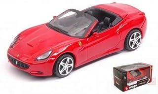 フェラーリ カリフォルニア コンバーチブル レッド Ferrari California Convertible 1/43 スケールモデル モデルカー [並行輸入品]