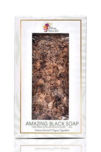 Alikay Naturals - Amazing Black- Soap 6oz, 6 Oz