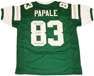 Vince Papale Autographed Philadelphia Eagles (Green #83) Custom Jersey w/
