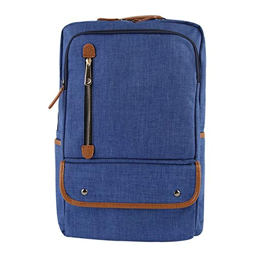 G-rf Laptop Rugzak Universal Multi-Function Canvas Cloth Laptop Computer Schouders zak zaken rugzak Studenten Bag, Maat: 43x29x13cm, for 15,6 inch en onder Macbook, Samsung, Lenovo, Sony, Dell Alienwa