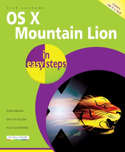 OS X Mountain Lion In Easy Steps (English Edition)