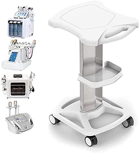 Salon Trolley Cart, Aluminum Mobile Trolley Stand Medical Rolling Carts for Ultrasonic Cavitation RF Machine Manicure Spa Shelf (Type 1)