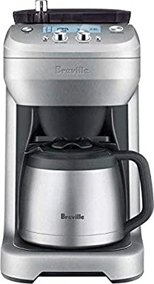 Breville Grind Control Coffee Maker BDC650BSS (Renewed)