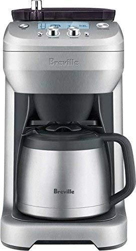 Breville Grind Control Coffee Maker BDC650BSS (Renewed)
