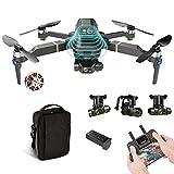 ドローン8K FHD FPVカメラライブビデオ、ポータブルSelfie Quadcopter、自動返品ホーム、カスタムフライトパス、フォロー、Auto Hover 1 battery