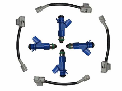 Set of 4 Injector RDX 410cc 16450-RWC-A01 Fit For Honda Acura Car 16450-RWC-A01 16450RWCA01