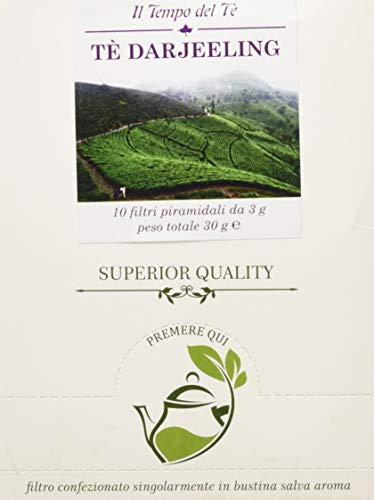 Herbo Veneta Filtri Piramidali Tè Darjeeling - 5 Confezioni da 10 filtri